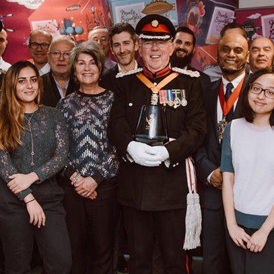 Monty Bojangles Wins Queen's Award for International Trade