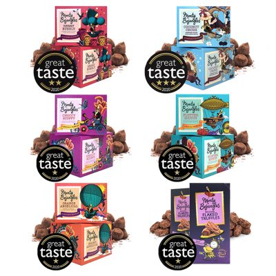 Monty Bojangles Wins 6 Great Taste Awards, and a 3 Star Award in 2020